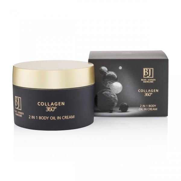 COLLAGEN 360° - 2 in 1 Body Oil in Cream 500ml