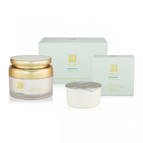 MED.OX - Perfection 24 Rich Day & Night Cream 150ml + Refill 150ml